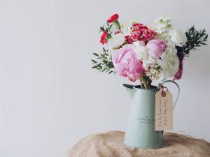Bestil blomster over internettet